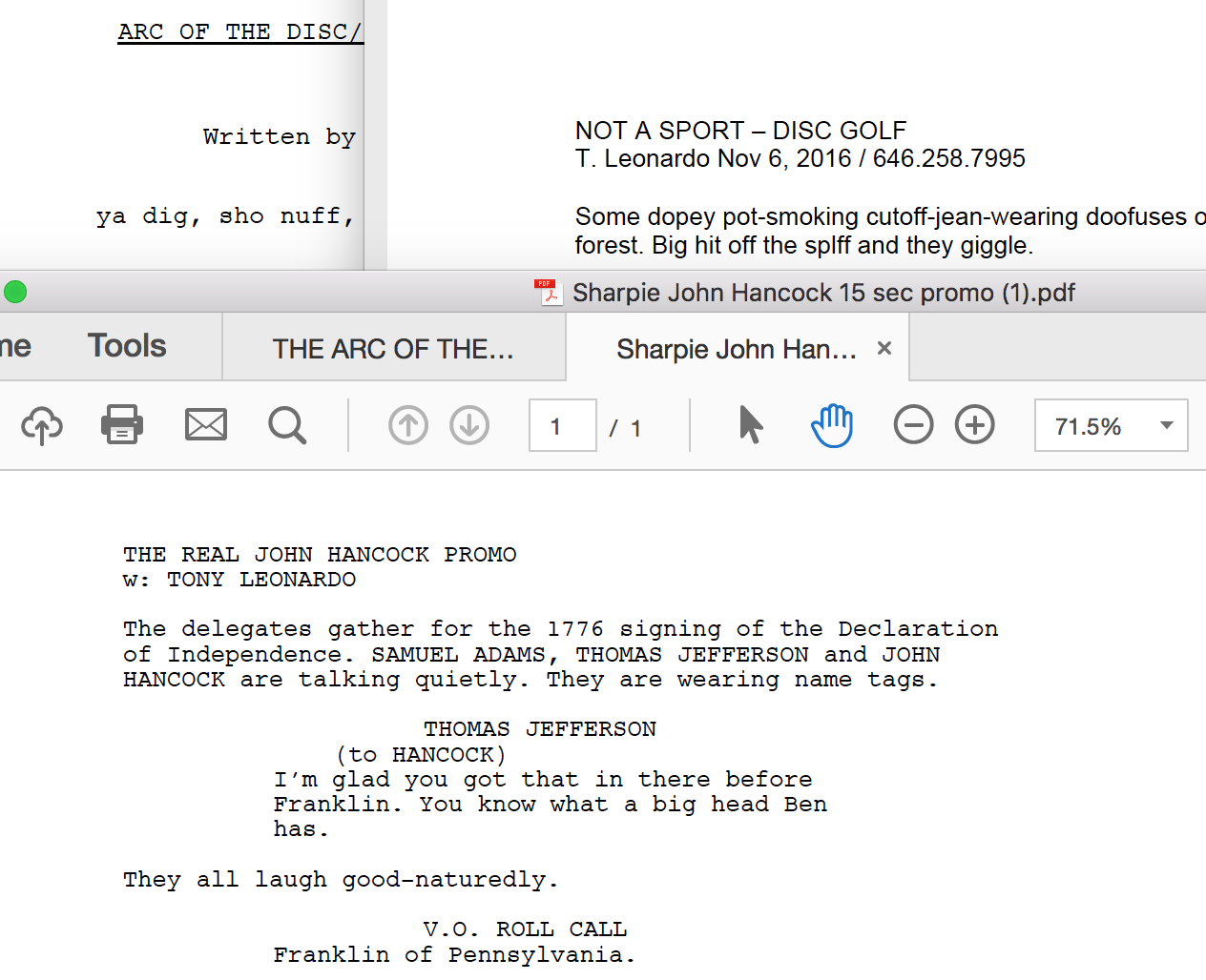 screen shot scripts